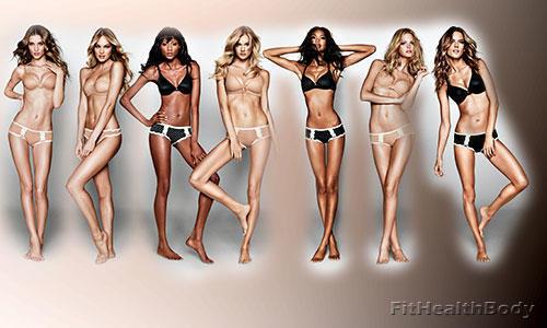 худые модели