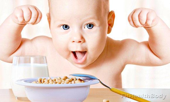 можно ли набрать вес от детского питания