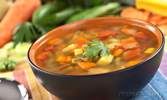 супы на сушке
