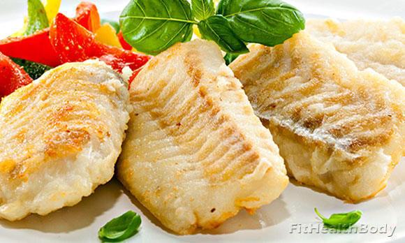 рыба на ужин при похудении