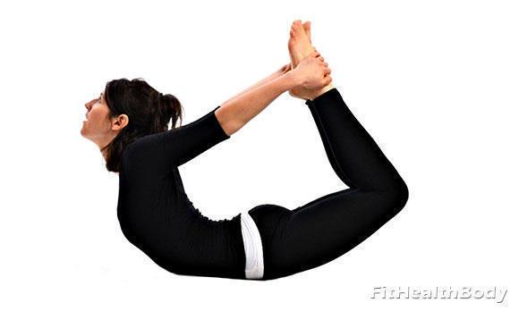 упражнение качели для живота и боков