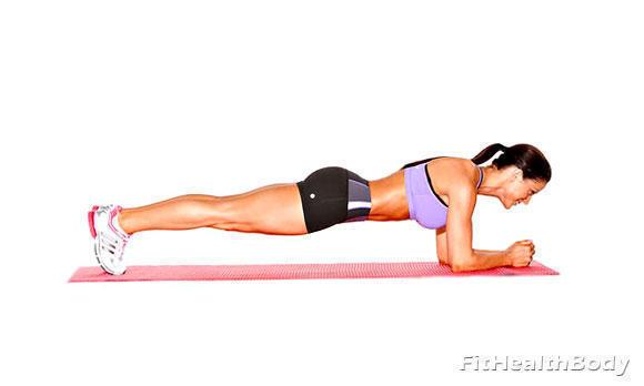 упражнение планка для живота и боков