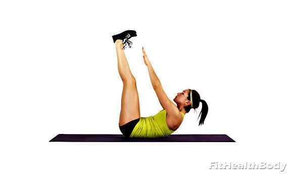 упражнение скрепка