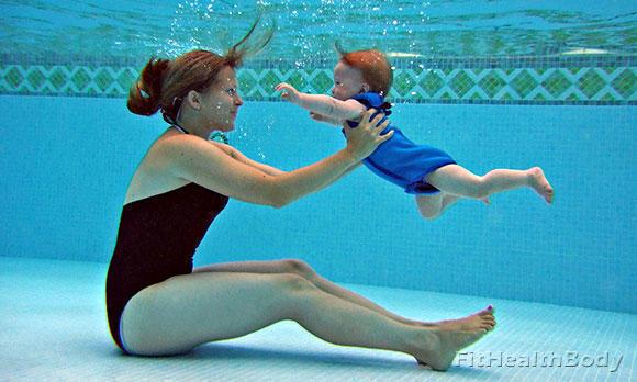 занятия плаванием для детей с 5 лет