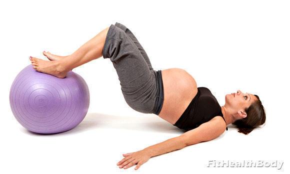 упражнения в тренажерном зале для беременных
