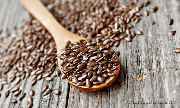 семена льна для очистки организма от шлаков