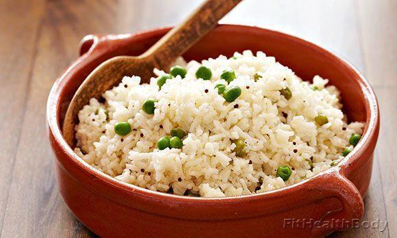 рис для очистки организма
