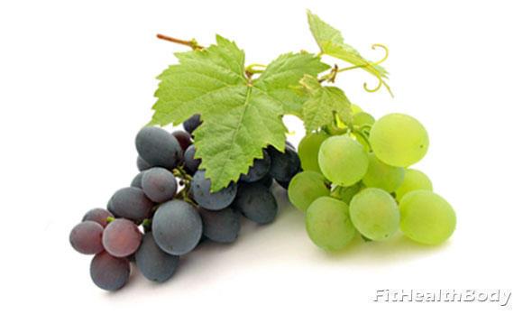 какой виноград полезнее черный или зеленый