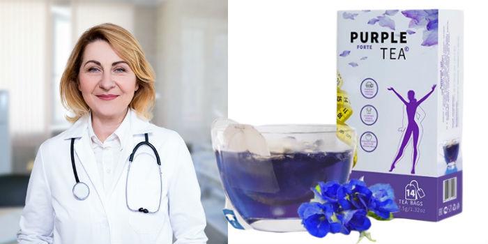 Пурпурный чай Форте диетолог