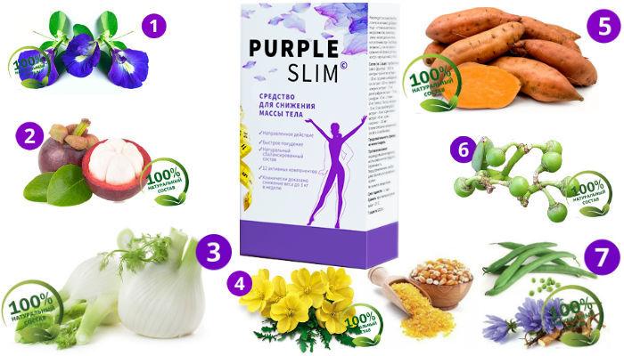 Purple Slim состав