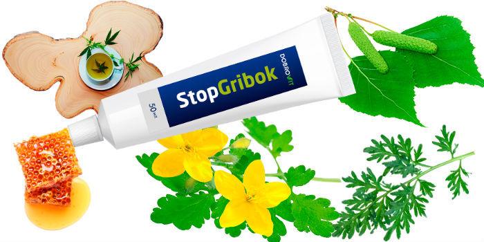 Stopgribok состав геля от грибка